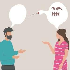 comunicazione che porta rabbia